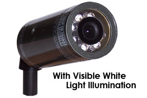 SUBMERSIBLE COLOUR CAMERA SYSTEM - 20M WIRED WITH WHITE-LIGHT NIGHTVISION