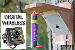 Wireless Pro Colour Bird Feeder Camera System with Night Vision