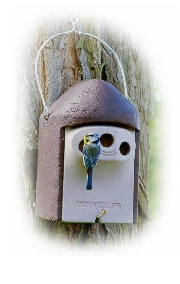 Woodcrete 2GR Predator Protection Nestbox