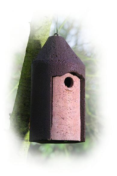 Woodcrete 2M Nestbox with 26mm hole