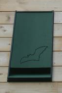 Integrated Eco Bat Box (green)