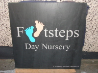 Welsh Slate Business Name Sign