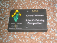 Welsh Slate Competition Award Plaque