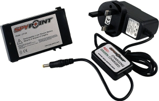 Spypoint Li-ion battery pack and charger